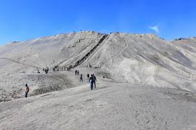Bromo crater and Sand Sea
