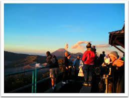 Sunrise at Pananjakan Mount Bromo